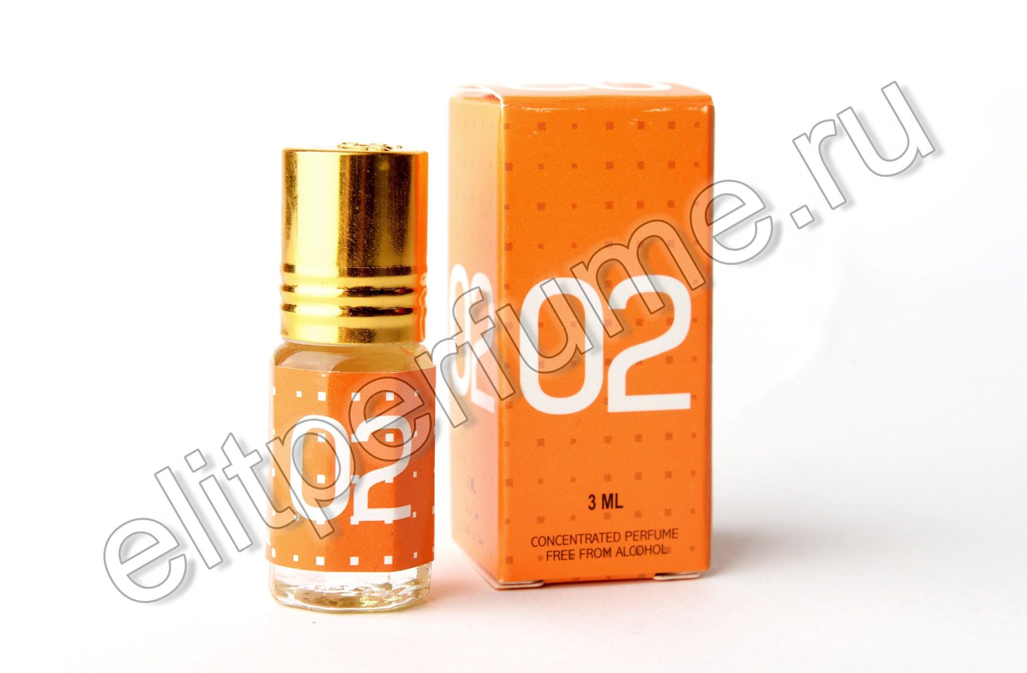 02 Molecule 3 мл арабские масляные духи от Захра Zahra Perfumes
