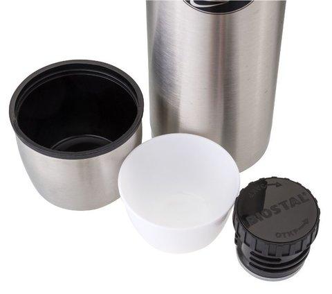 Термос Biostal Охота (0,75 литра) в чехле, стальной