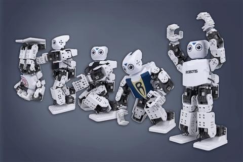 Robotis DARwIn-Mini — человекоподобный робот-конструктор