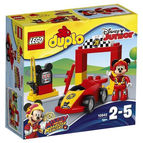 LEGO Duplo: Disney: Гоночная машина Микки 10843 — Mickey Racer — Лего Дупло