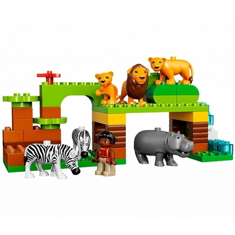 LEGO Duplo: Вокруг света 10805 — Around the World — Лего Дупло