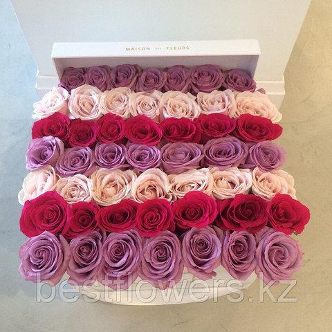 Коробка Maison Des Fleurs с розами 24