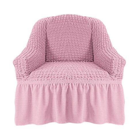 Чехол на кресло, розовый