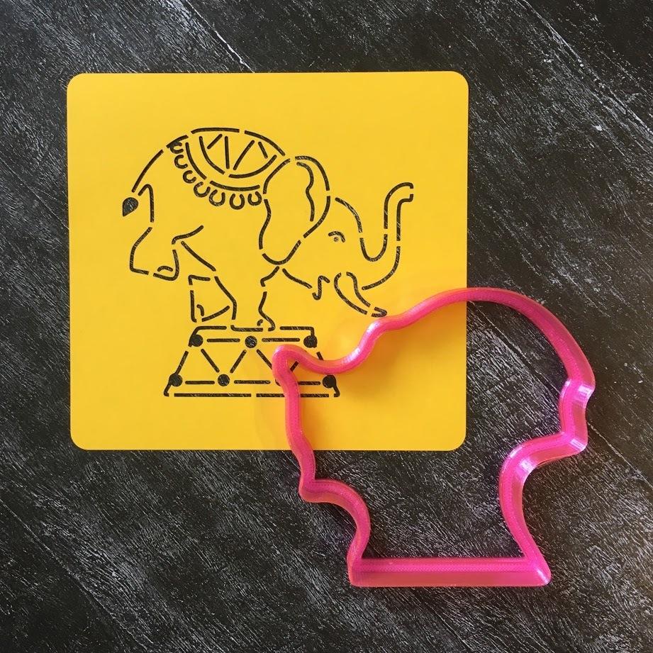 Слон №3 цирковой