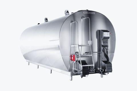 9000 литров   Танк охладитель молока Wedholms DF95L с двумя мешалками