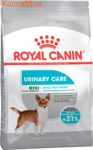 Royal Canin Urinary Care сухой корм для собак мелких пород 1кг