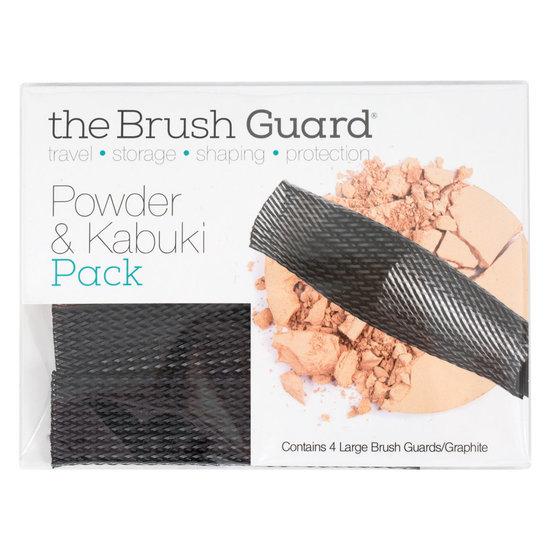 Набор брашгардов Powder & Kabuki Pack (Large) 4 шт. Graphite