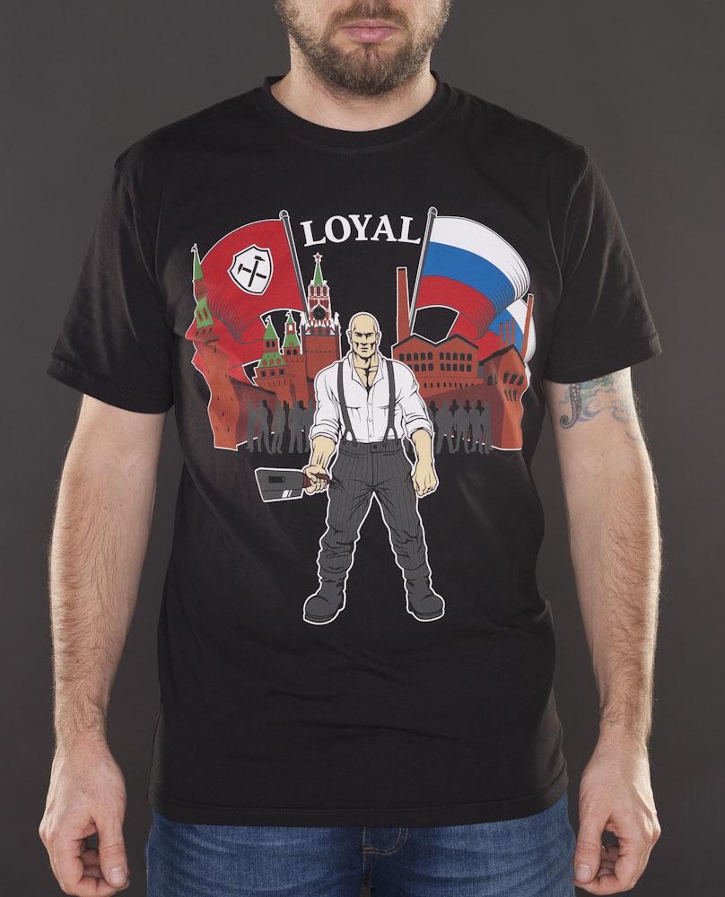 Футболка Loyal чёрная
