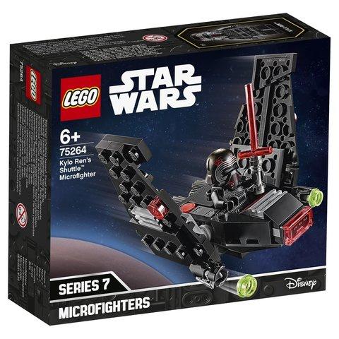 LEGO Star Wars: Микрофайтеры: Шаттл Кайло Рена 75264 — Kylo Ren's Shuttle Microfighter — Лего Звездные войны Стар Ворз