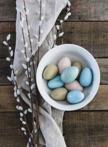 Яйца крашенные