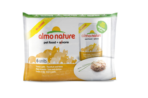 Набор паучей Almo Nature Multipack Classic Tuna and Chicken
