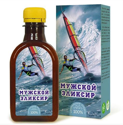Компас здоровья масло льняное с растительными экстрактами «Мужской эликсир»