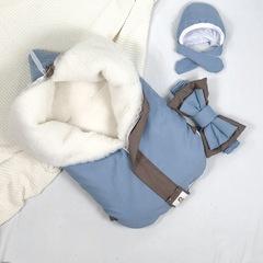 Конверт-одеяло МУЛЬТИКОКОН ® Soft, blue stone