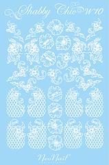 Трафарет для дизайна Shabby Chic 10 комбинированный