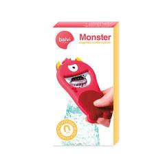 Открывалка Monster красная магнитная, фото 4