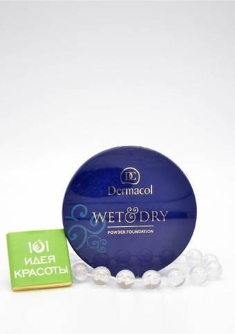 Dermacol Wet & Dry Powder Foundation Компактная пудра с кремовой текстурой, 6гр