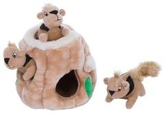 Игрушка-головоломка для собак Petstages OH  Hide-A-Squirrel (спрячь белку) средняя 15 см