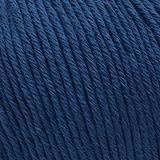 Пряжа Gazzal Organic Baby Cotton 437 синий