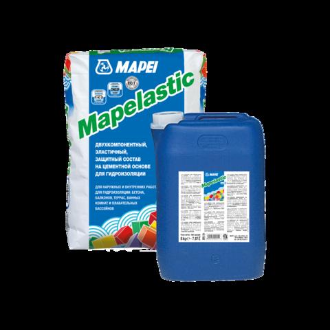 Mapei Mapelastic/Мапей Мапеластик двухкомпонентный состав для гидроизоляции