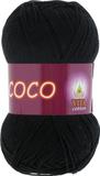 Пряжа Vita Coco 3852 черный