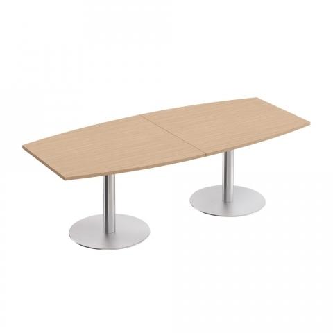 Стол для переговоров на опорах-колоннах (240x110x75)