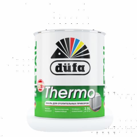 Dufa Retail THERMO/Дюфа Ритейл Термо эмаль для отопительных приборов белая