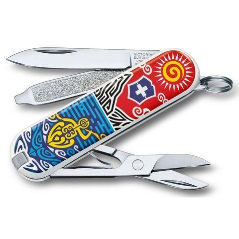 Нож перочинный Victorinox Classic (0.6223.L1806) New Zealand 58мм 7функций
