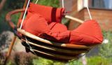 Подвесное деревянное кресло Майя Set