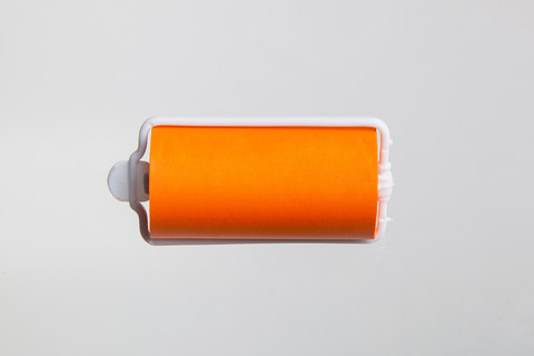 Бигуди эластичные Ставвер оранжевые 32мм*70мм 12шт/уп