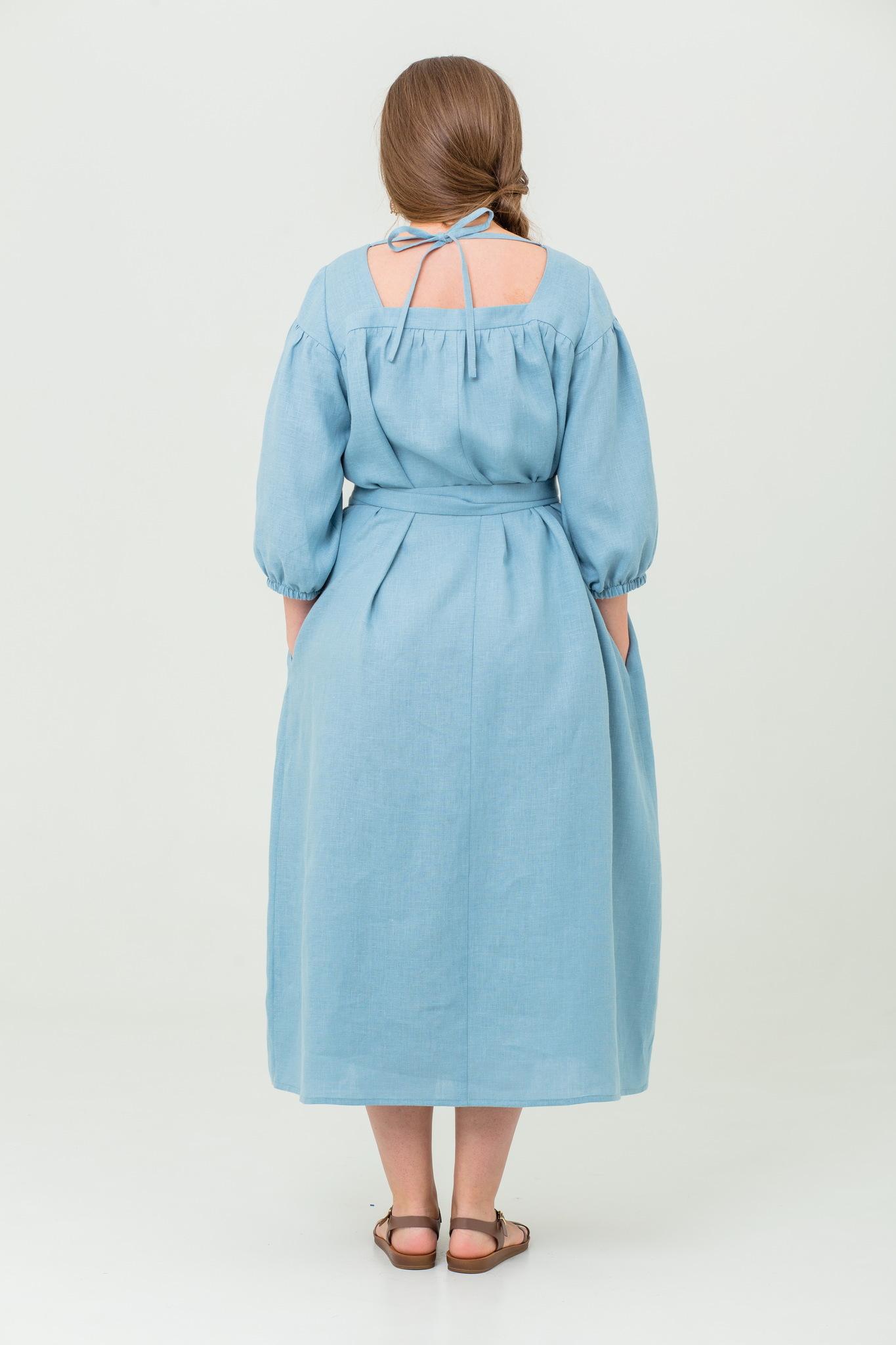 Платье льняное Босиком по росе с доставкой