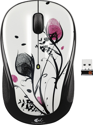 LOGITECH M325 Wireless Fingerprint Flowers