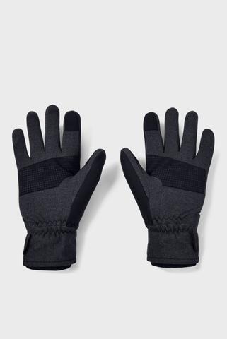 Мужские темно-серые перчатки UA M Storm Glove Under Armour