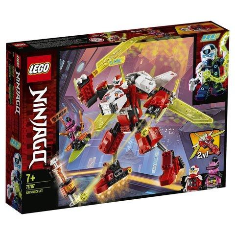 LEGO Ninjago: Реактивный самолет Кая 71707 — Kai's Mech Jet — Лего Ниндзяго