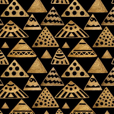 Пирамиды золотые