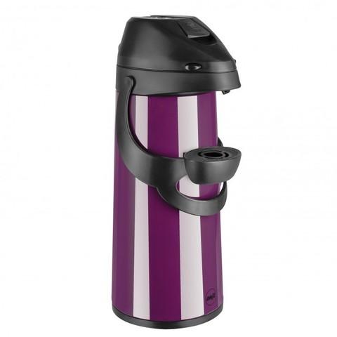 Термос Emsa Pronto с пневмонасосом (1,9 литра), фиолетовый