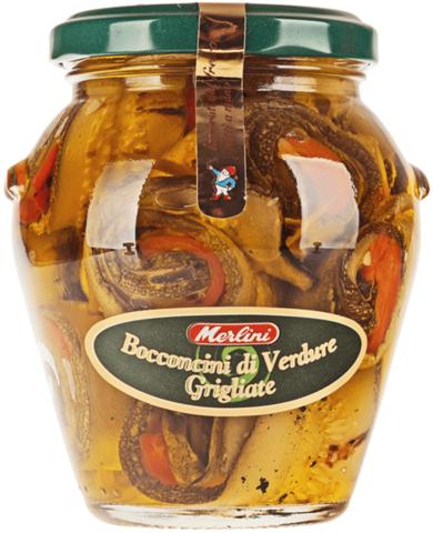 Рулончики из овощей-гриль