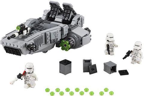 LEGO Star Wars: Снежный спидер Первого Ордена 75100 — First Order Snowspeeder — Лего Звездные войны Стар Ворз