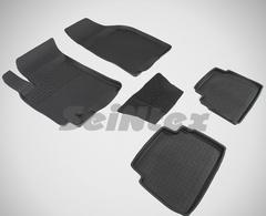 Резиновые коврики для CHEVROLET LACETTI / DAEWOO GENTRA (высокий борт)