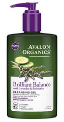 Гель для снятия макияжа с лавандой, Avalon Organics
