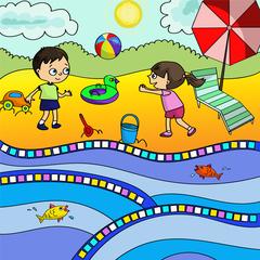 004-4275 Пиксельная аппликация