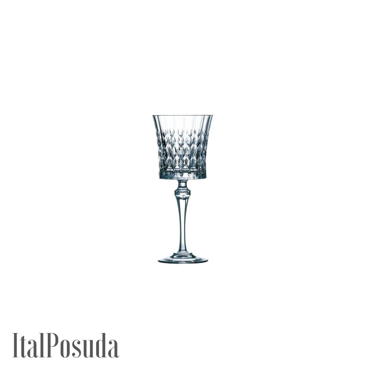 Набор бокалов для вина Eclat Cristal d'Arques Lady Diamond (Леди Даймонд), 6 шт L9743