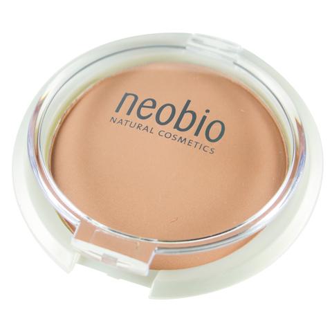Neobio Компактная пудра 02 бежевая