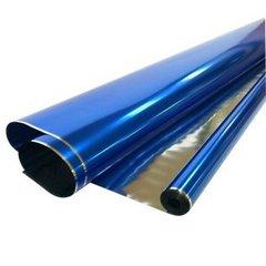 Рулон 0,7 Пленка Металл Синяя, 190гр, 70 см*710 см, 40 мкм