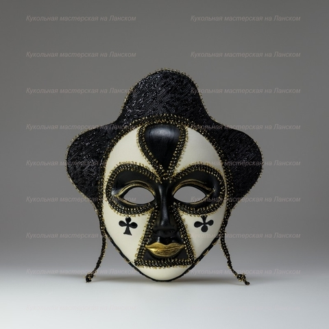 Трефы - интерьерная маска