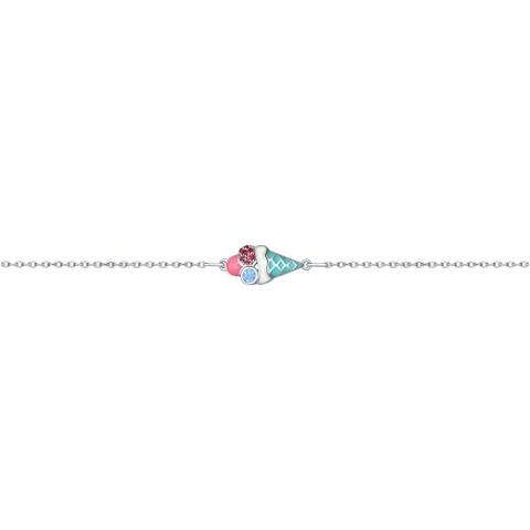94050443- Браслет из серебра с подвеской