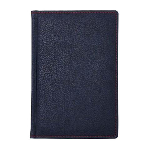 Телефонная книга Attache Bizon искусственная кожа A5 120 листов темно- синяя (142х210 мм)