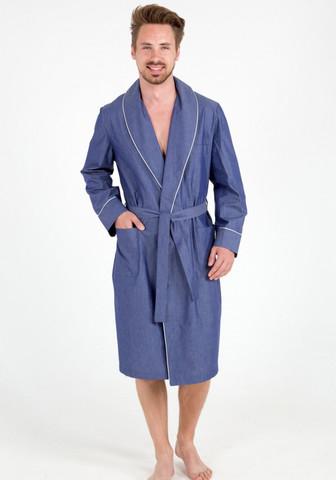 Мужской халат из натурального хлопка