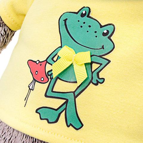 Басик в футболке с принтом