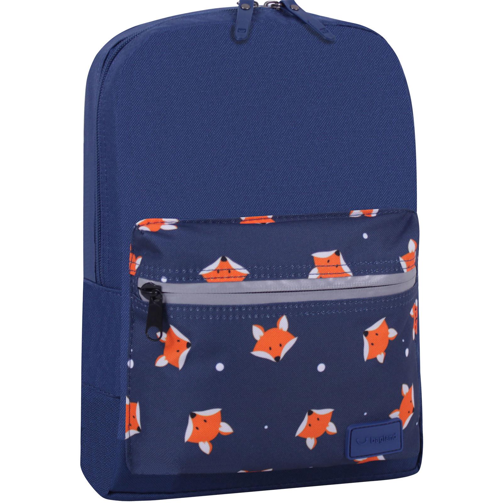Детские рюкзаки Рюкзак Bagland Молодежный mini 8 л. синий 742 (0050866) IMG_6745_суб742_-1600.jpg