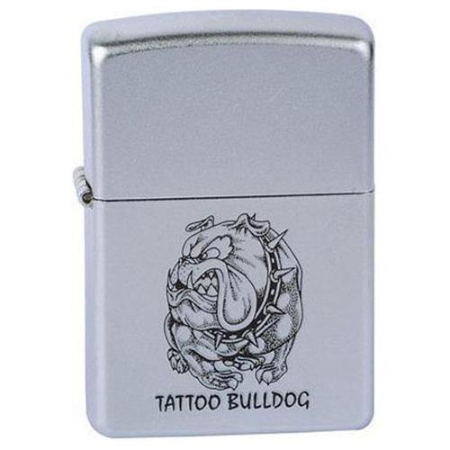 Зажигалка Zippo Tattoo bulldog (205)